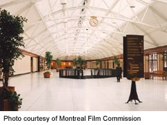 Gare Windsor Station interior view