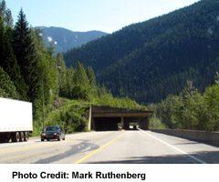 Trans-Canada Tunnel in Glacier National Park