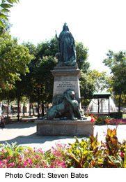 Fountain in Gore Park