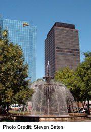 Gore Park's fountains