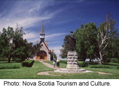 Church of the Covenanters in Grand Pre, Nova Scotia