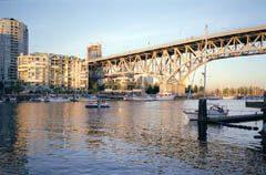 Granville Street Bridge over False Creek