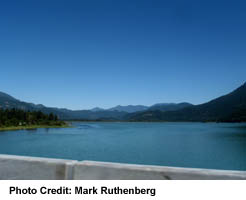 View from Bridge over Harrison River
