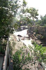 Hog's Back Falls below Mooney's Bay