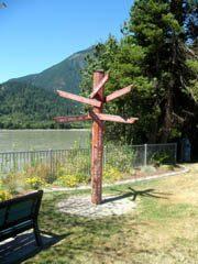 Signpost at Hope, BC