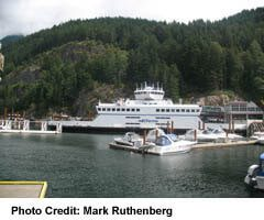 Horseshoe Bay with Ferry at the dock