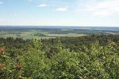 Champlain Lookout View looking NW