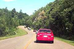 Scenic Drive along Gatineau Parkway