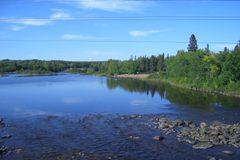Kaministiqua River west f Thunder Bay