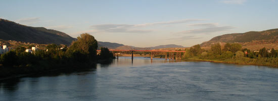 Kamloops on the Thomson River