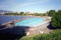 Kits Pool in Kitsilano