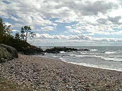 Cobble Beach along Lake Superior