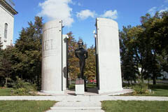 Winnipeg has a number of historical sites and statues for Louis Riel