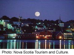 Lunenburg waterfront, Nova Scotia