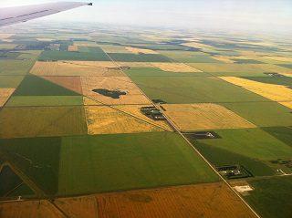Farmland in westgern manitoba