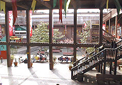 Interior of restored Market Square