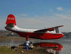 Martin Mars Water Bomber, photo by Coulson Air Services