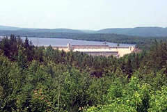 Ottawa River Power Dam