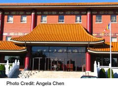 Buddhist Temple in Meadowvale area of Mississauga