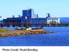 Grain Elevators and Flour Mills, seen from Boulevard Lake