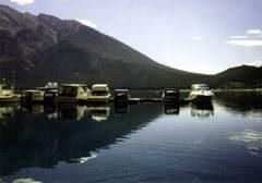 Lake Minnewanka at Banff, Alberta