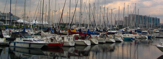 Missisauga has a robust lakefront lifestyle, expecially at Port Credit