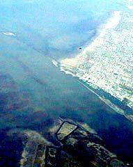 Mouth of Fraser River at Steveston