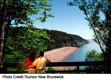See the world's highest tides along the Bay of Fundy