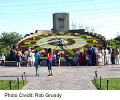 Niagara Parks Floral Clock