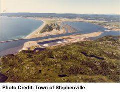 Stelhenville Harbour, west of the Highway