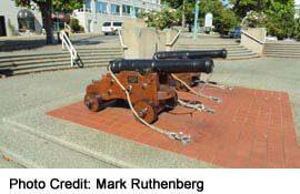 Noon Gun at Nanaimo's waerfront
