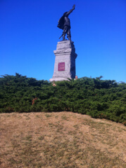 Samuel De Champlain Statue at Nepean Point