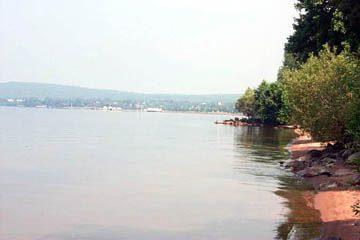 Lake Nipissing at North Bay
