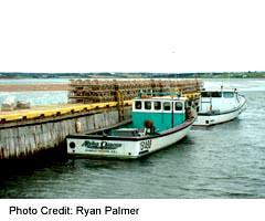 Fishing boats at North Rustico