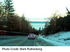Upper Levels Highway at Dusk