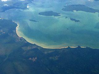 Nipigon Bay and Vert Island, east of Thunder Bay