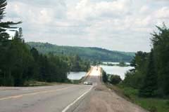 Trans-Canada Highway North Of Superior Around Wawa