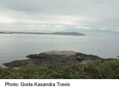 Oak Bay-View of Trial Iislands from Hollywood Crescent