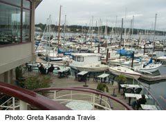 Oak Bay Marina with boats
