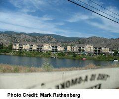 Condos Along Okanagan River