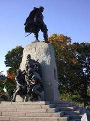 Champlain Monument in Orillia