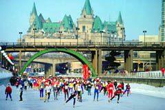 Skating on Ottawa's Rideau Canal