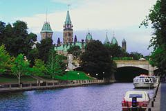 Rideau Canal in the Summer