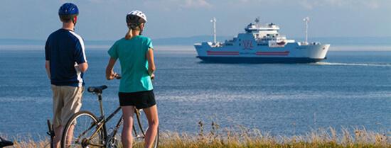 Wood Island Ferry to New Glasgow on Mainland on PEI