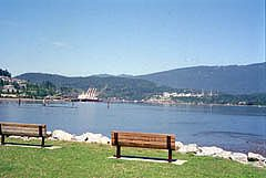 View from Rocky Point in Port Moody
