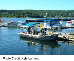 Penetanguishene is home to a significant recreational and commercial fishery