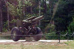 artillery display at Petawawa