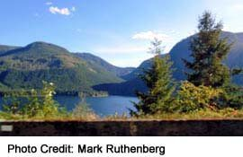 Sproat Lake is just west of Port Alberni