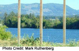 Port Alberni's Waterfront is ocean-accessible