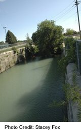 The Third Canal passes through Port Dalhousie, in St Catharines